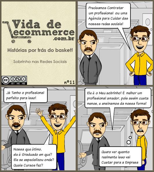 Redes Sociais com Sobrinho - Vida de Ecommerce